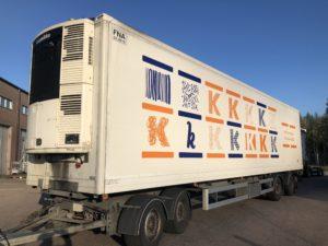 4 akselinen umpiputki kylmävaunu VAK 2009
