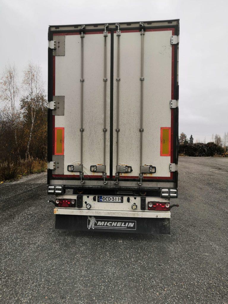 Schmitz Cargobull 4- akselinen TPV FRC 13.6m vm.2016. Luokat voimassa!
